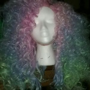 100% Human hair lace front customized wig